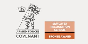 TriCIS receives prestigious Bronze Award from The Armed Forces Covenant ERS