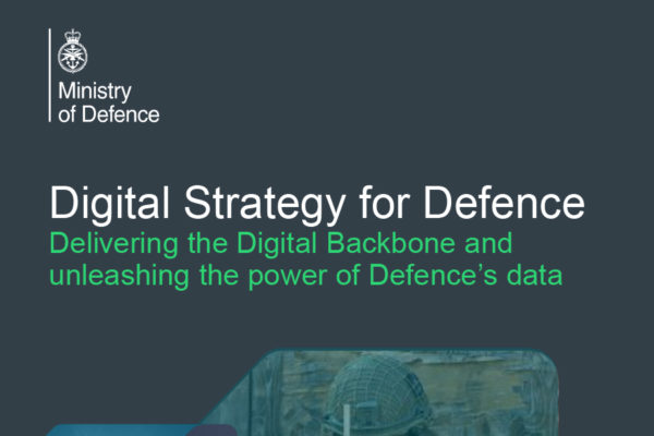 Digital Strategy for Defence